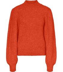diana longsleeve highneck blouse sweater