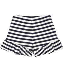 alberta ferretti striped shorts