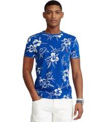 polo ralph lauren men's classic-fit floral jersey t-shirt