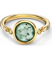 anillos swarovski tahlia 5572708 verde