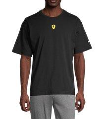 puma ferrari men's race street t-shirt - black - size s
