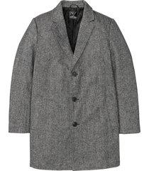 cappotto corto con collo a revers (nero) - bpc selection