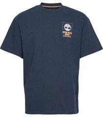 ss ft nnh back tee t-shirts short-sleeved blå timberland