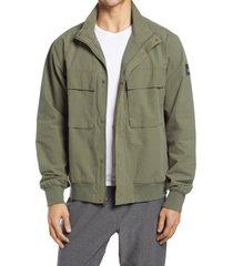 men's alo shoreline bomber jacket