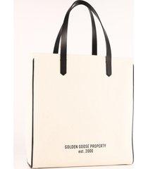 golden goose property tote bag