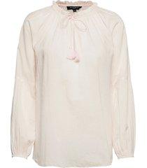 blouse blus långärmad rosa ilse jacobsen