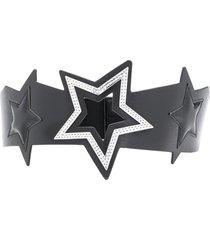 liu jo chunky star belt - black