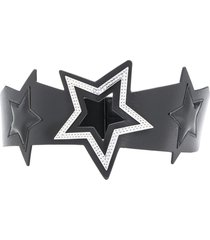 liu jo chunky star belt - black