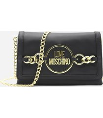 love moschino shoulder bag with logo detail