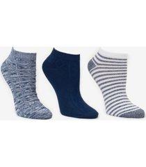 cuddl duds women's 3-pk. low-cut socks