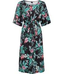 abito con maniche a kimono (nero) - bodyflirt