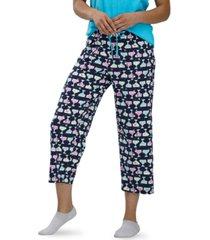 hue women's printed capri pajama pants