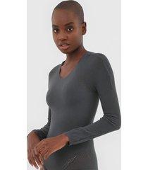 body trifil recortes cinza