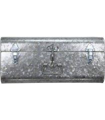 hillard large galvanized silver case