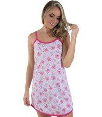 camisola de malha linha noite 026 feminina - feminino