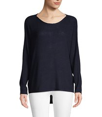 kerenza high-low pullover