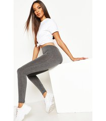 basic jersey leggings, houtskool