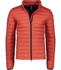 ecoalf tussenjack beret oranje