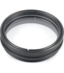 lente de vidrio objetivo auxiliar 1x para lente de video microscopio monocular 10a