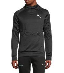 puma men's active hoodie - black - size xxl