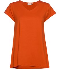 digna t-shirts & tops short-sleeved orange masai