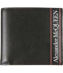 alexander mcqueen 8cc graffiti billfold wallet