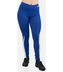 leggings deportivos tayrona saeta azul rey