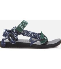 arizona love women's trekky bandana sandals - khaki - uk 8