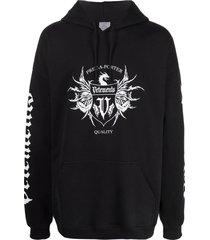 black label hoodie black and white