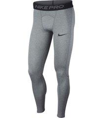 pantalón pro tights leggings nike hombre bv5641-085 gris