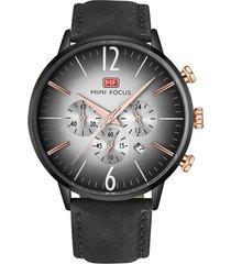 reloj análogo f0114gl-3 hombre negro