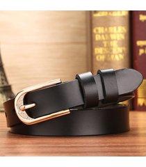 cinturón para mujer/estilo accesorio/ las hebillas de-negro