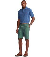 polo ralph lauren men's big & tall stretch classic-fit chino shorts