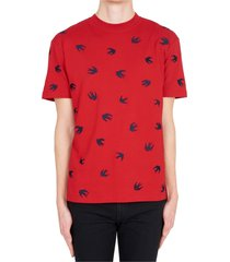 mcq alexander mcqueen mini swallow t-shirt