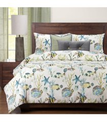 siscovers bimini 6 piece queen luxury duvet set bedding
