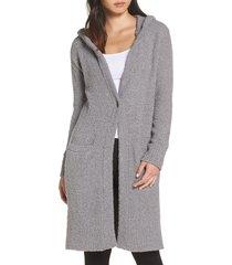 women's ugg judith long cardigan, size x-small/small - grey