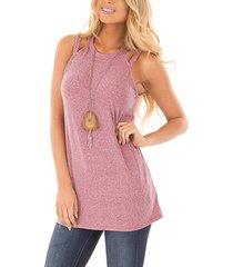 pink halter design camis