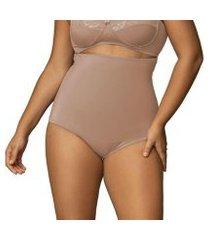 calcinha cinta modeladora alta plus size shanty feminina