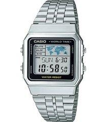 relógio casio unissex vintage a500wa-1df
