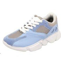 tênis dad sneaker chunky selten azul bebe - tricae