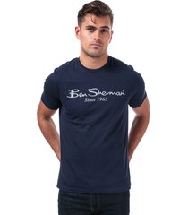 mens large logo t-shirt