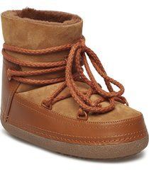 inuikii boot classic shoes boots ankle boots ankle boot - flat brun inuikii