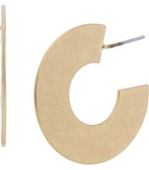 robert lee morris soho geometric hoop earrings