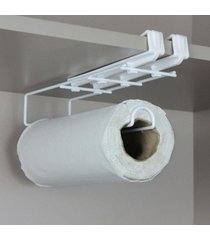 porta papel toalha, suporte para papel toalha flexivel - branco - kanui