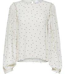 blouse zelda gebroken wit
