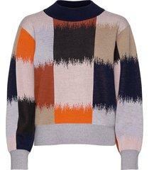 pysti ostjakki knitted pullover gebreide trui multi/patroon marimekko