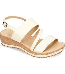 sandalias de plataforma blanco bata howi mujer