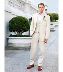 wedding party linen suit