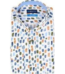 bos bright blue ward shirt casual hbd 20307wa51bo/500 multicolour
