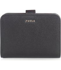 furla babylon s compact wallet saffiano